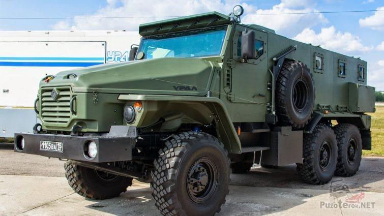 Бронеавтомобиль Урал-ВВ для МВД