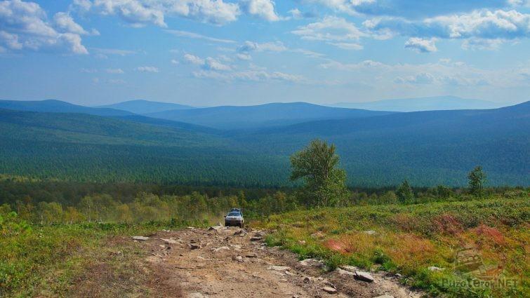 Дорога на Перевал Дятлова