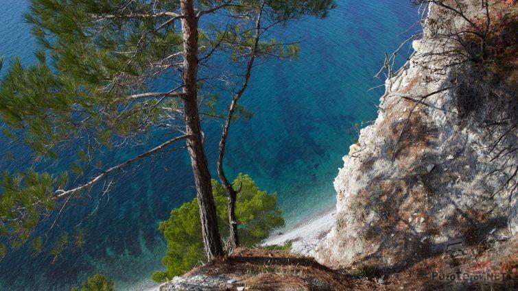 Джанхот, голубая бездна моря