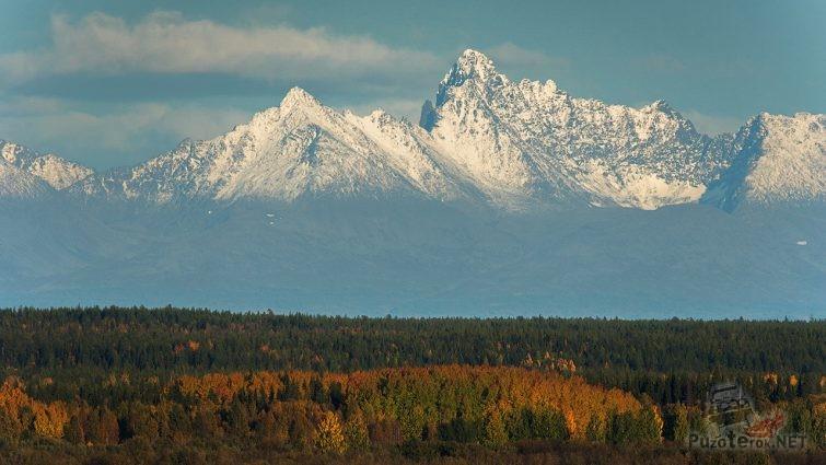 Гора Сабля, Приполярный Урал, Республика Коми