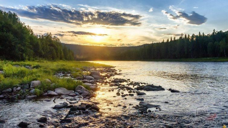 Горная река Северного Урала