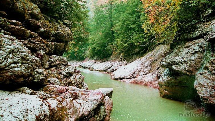Гуамка - гуамское ущелье