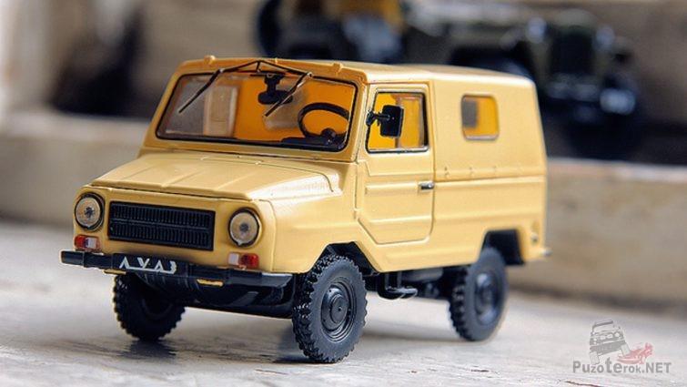Игрушечная модель автомобиля Луаз