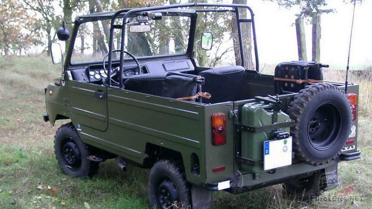 ЛУАЗ-969 кабриолет вид сзади