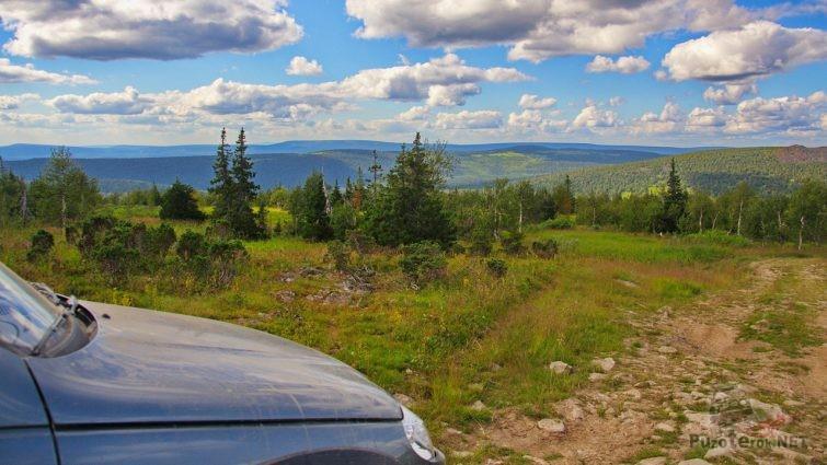 На дороге Северного Урала