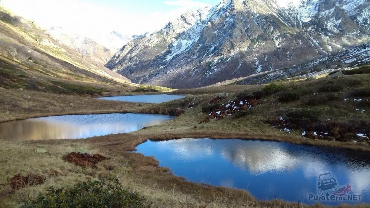Озерная Долина Дзитаку (Семиозерье)