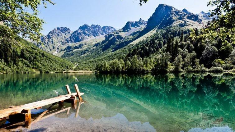 Озеро Кардывач Краснодарский край