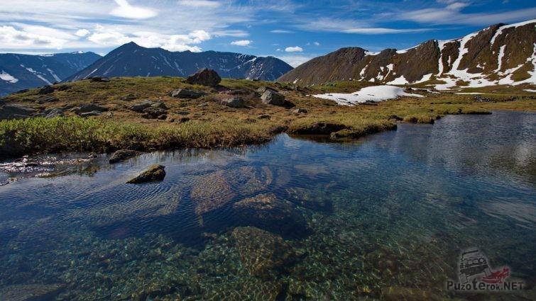 Озеро на Приполярном Урале