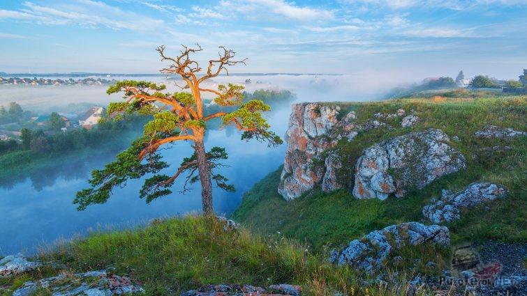 Пейзаж у реки Чусовой