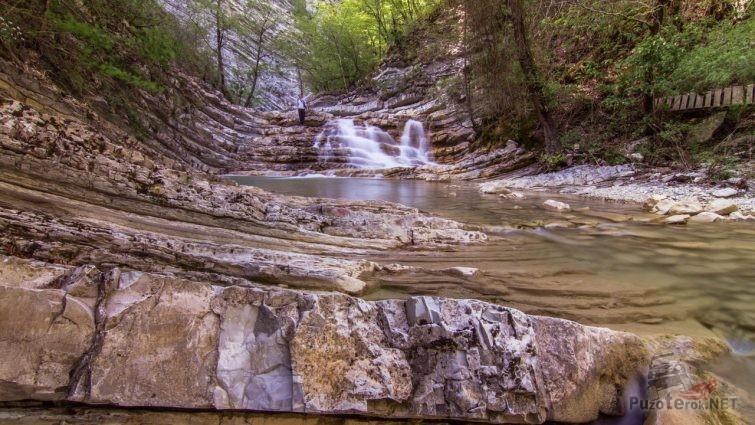 Плесецкие водопады в Геленджике