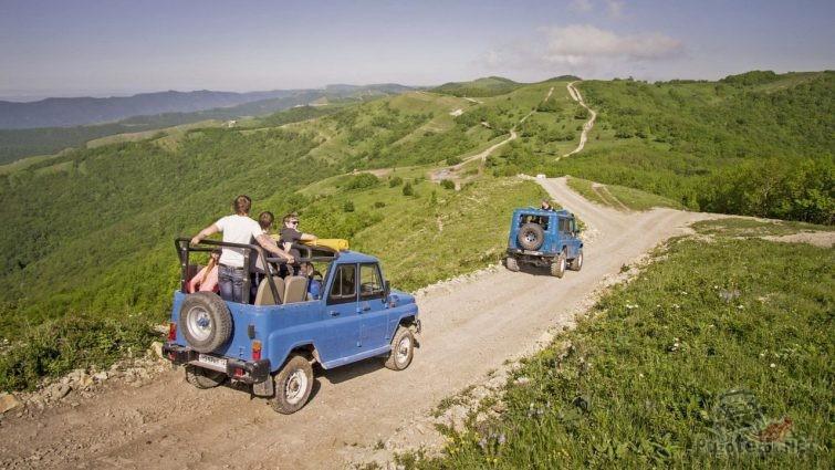 Поездки на уазиках по Краснодарскому краю