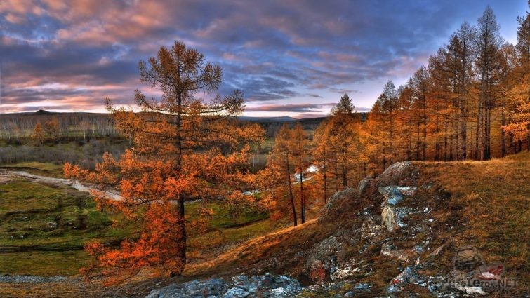 Природа Урала осенью