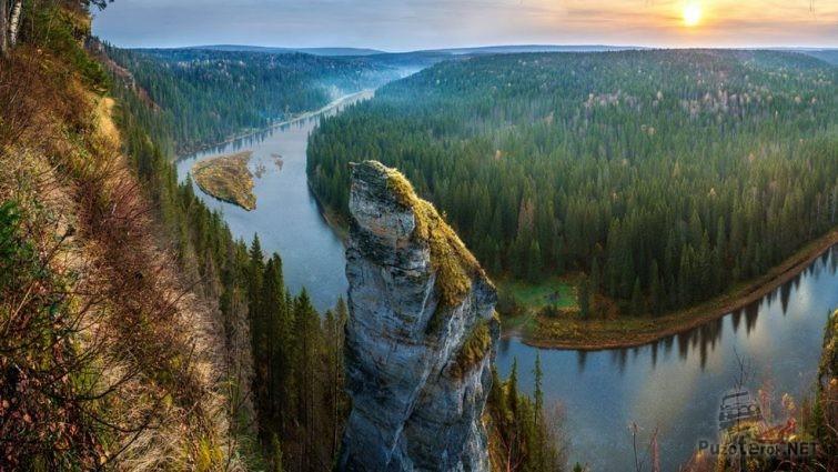 Река Усьва в пермском крае