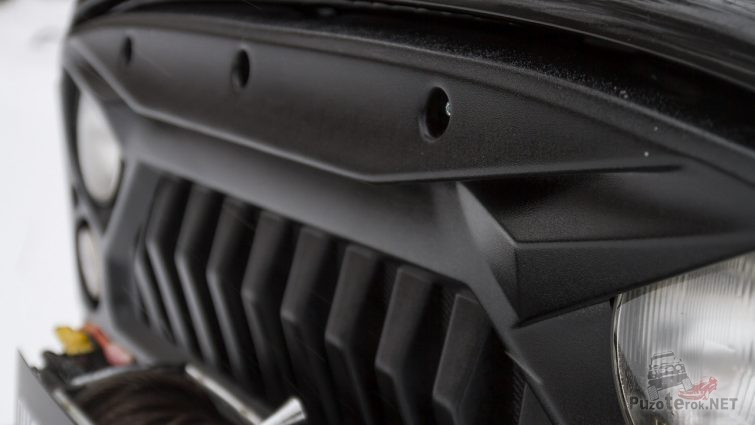 Решётка радиатора УАЗ Хантер из АБС-пластика