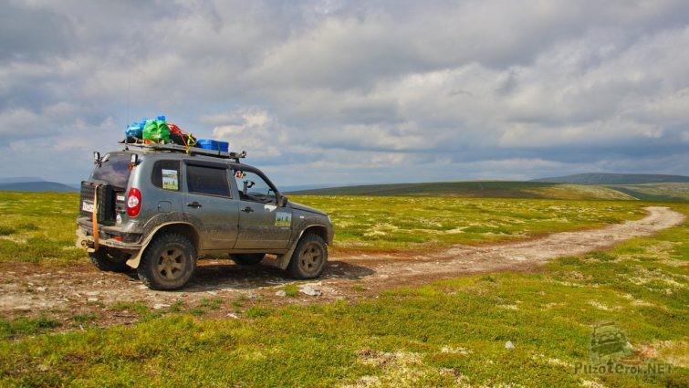Шеви-нива на Северном Урале