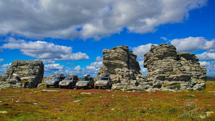 Шеви-нивы на плато Кваркуш