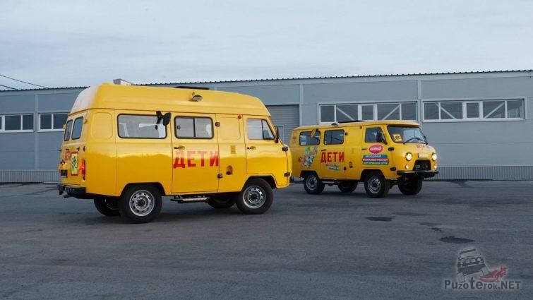 Школьный автобус для села с плохими дорогами