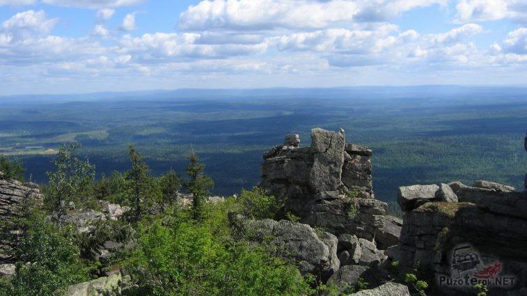 Скальные останцы на Северном Урале