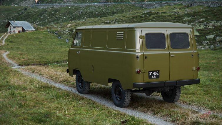 Советская военная буханка УАЗ 451м