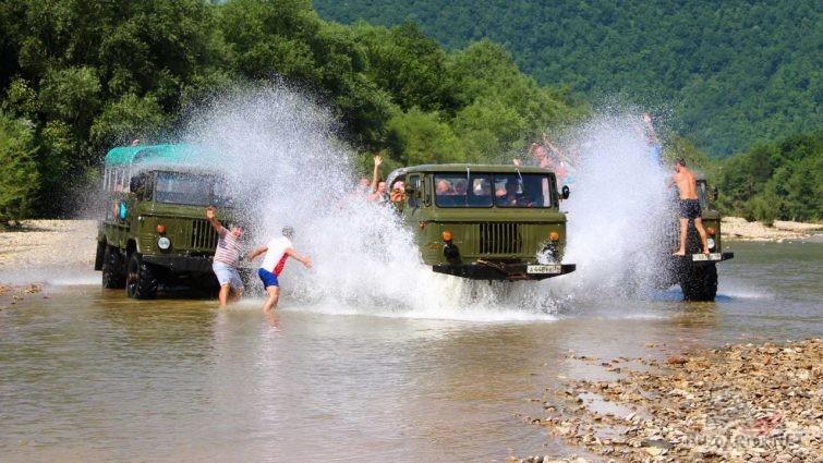 Туристические ГАЗ-66