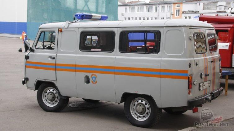 УАЗ 452 МЧС