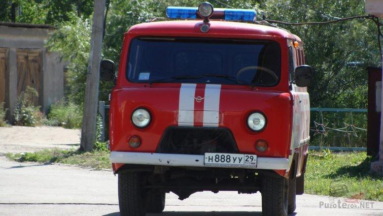 УАЗ Батон для пожарной охраны