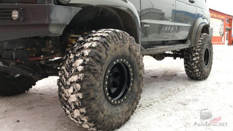 Внедорожные шины Baja Claw 37 на УАЗ Патриот