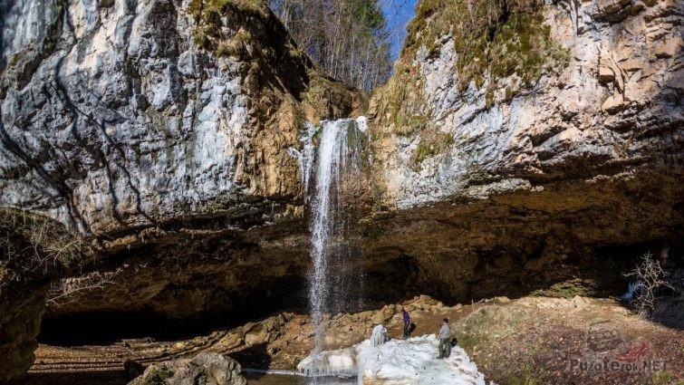 Водопад Ченарева, Мезмай