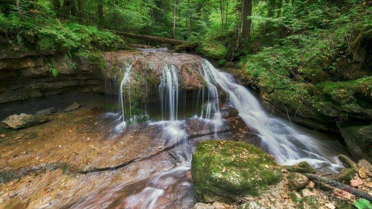Водопады в Апшеронском районе