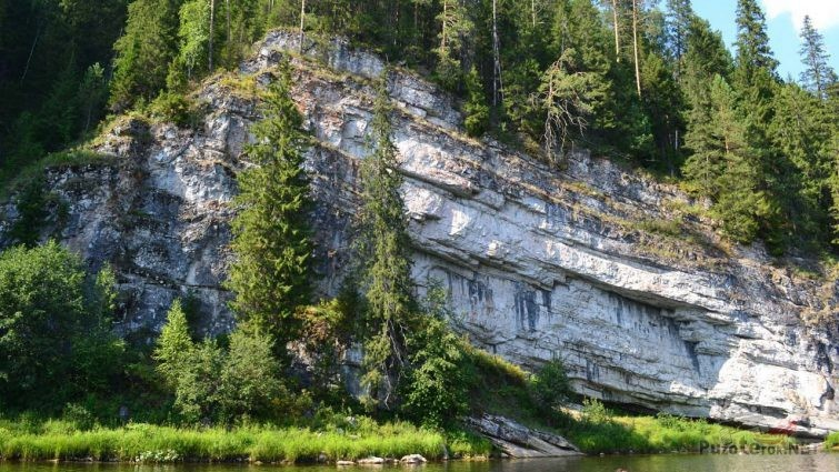 Высокий берег и природа северного Урала