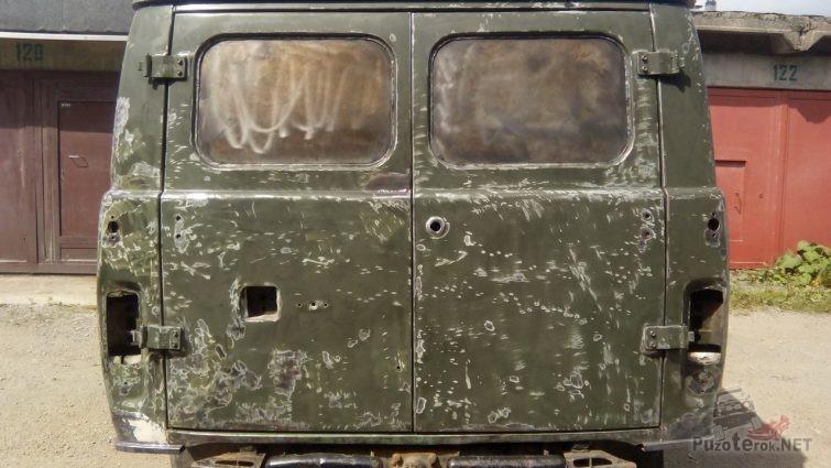 Зачистка кузова перед покраской