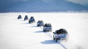 Амароки на больших колёсах в полярной экспедиции