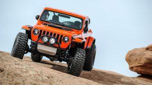 Jeep Sandstorm на тест-драйве