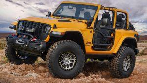 Jeep Wrangler Nacho Concept 2019 года