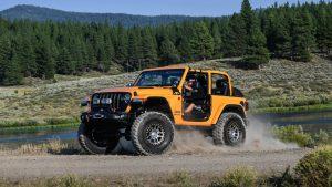 Nacho Jeep в дорогом тюнинге Mopar