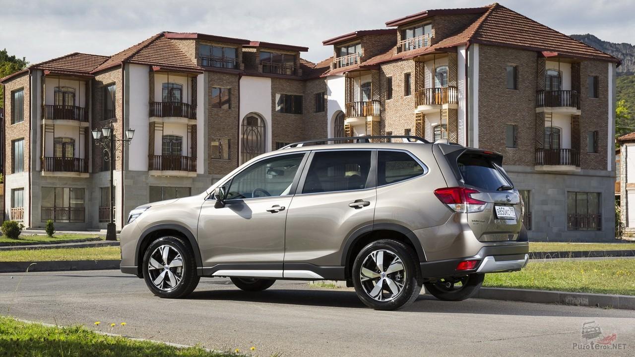 Новый Subaru Forester (15 фото)