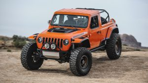 Оранжевый Jeep Sandstorm