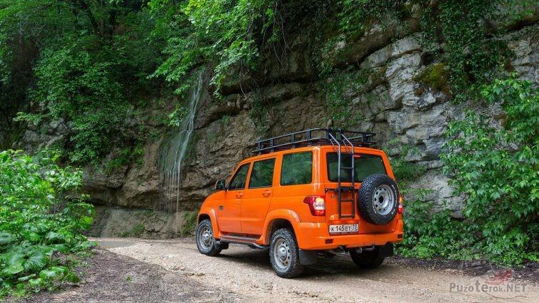 Оранжевый Патриот в горах Кавказа