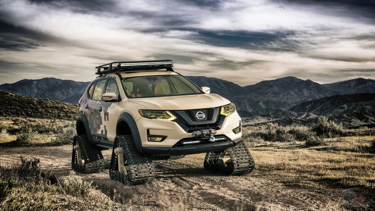 Фото нового Nissan X-Trail