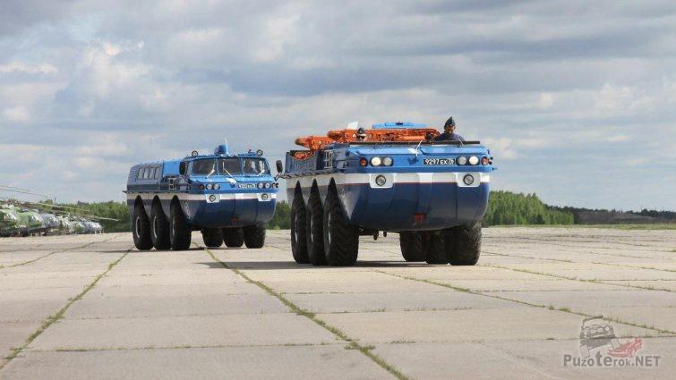 Поисково эвакуационные машины-амфибии