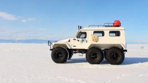 Путешествие на трэколе по Байкалу