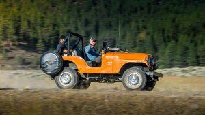 Старенький Jeep CJ-5 в отличном состоянии