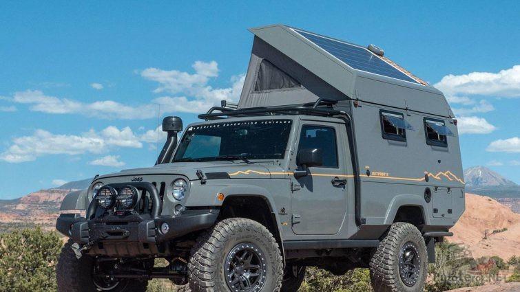 Автодом на базе Jeep