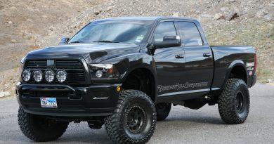 Dodge Ram подготовлен для бездорожья