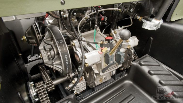 Двигатель снегоболотохода Argo