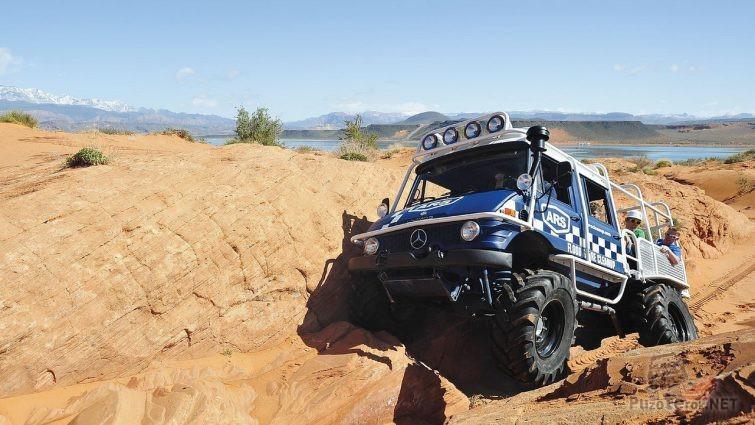 Экскурсия на Mercedes-Benz Unimog по скалам