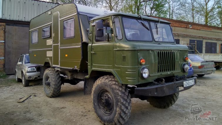 ГАЗ-66 кемпер
