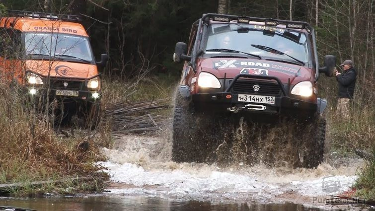 Грузовые автомобили Соболь на соревнованиях