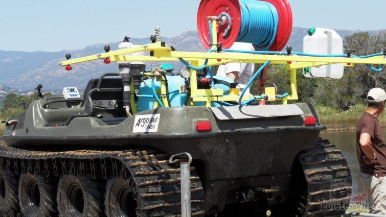 Гусеничный вездеход Арго с оборудованием