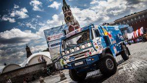 КАМАЗ на Красной площади на старте ралли Шёлковый путь